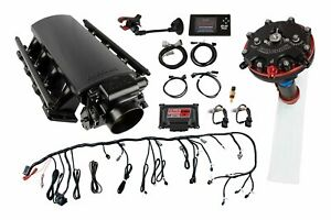 FITech Fuel Injection 70011K1 Ultimate LS EFI Induction System LS3L92 500 HP Wi