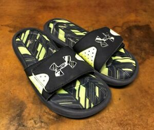 Boys Under Armour Slides size 1 Free Shipping