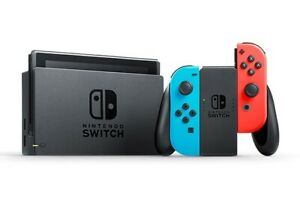 Nintendo Switch Neon Blue and Red Joy Home Console 32 GB