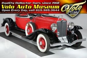 1931 Auburn 8-98A Boatail Speedster Dual Side Mounts