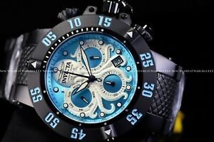 Invicta Men's 50mm Subaqua Noma III Swiss Chrono Ocean Blue Octopus Black Watch