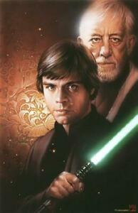 Star Wars Luke Skywalker and Obi-Wan Kenobi
