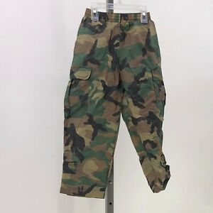 cyquest boys camo pants boys sz 5 nylon $17.00