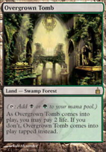 Overgrown Tomb Ravnica Magic mtg Light Play English x1 1x