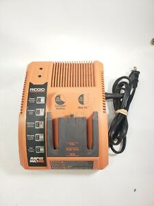 Ridgid Battery Charger Rapid Max 9.6V 12V 14.4V 18V Model No. 140276003.