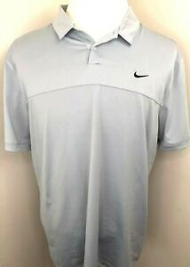 Nike Golf Mens Large Gray Dri Fit Disney Cruise Lines Mickey Mouse SS Polo Shirt