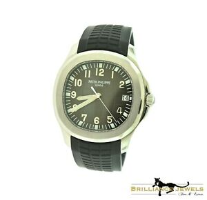 PATEK PHILIPPE Aquanaut 51671A-001 Steel 40 mm Rubber Band Watch PAPERS (P-25)