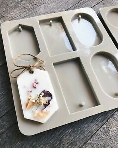 Aromatherapy Silicone Mold for Scented Soy Wax Tablets, Sachet -  Chocolate DIY