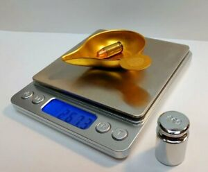 RELOADING DIGITAL SCALE, LARGE BASE, 750GN W/CALIBRATION WEIGHT