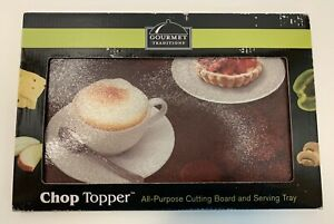 Gourmet Traditions Chop Topper All-Purpose Cutting Board & Serving Tray NEW
