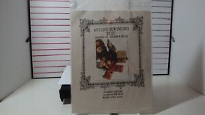 Suzanns Designs Antique Sewing Box quot;ETUIquot; Suzann Miller new in package $12.00