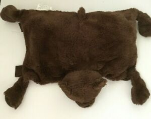 Little Miracles Plush Bear Brown Pillow Snuggle Me Costco Lovey