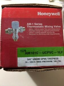 Honeywell AM101C-UCPVC- 1LF  Lead Free  Mixing Valve 34