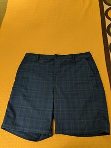 UNDER ARMOUR - MEN'S SIZE 38 GOLFCASUAL SHORTS - POLYESTER BLEND