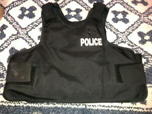 Point Blank Male Body Armor with Outer Black Carrier 46 R 912