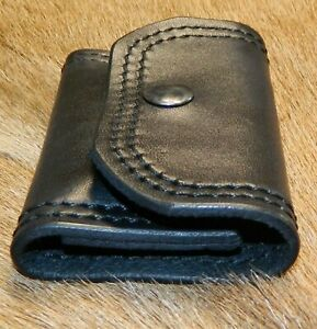 Leather Speed Strip POUCH 38sp 357mag; carries 1 six round Bianchi Style Strip