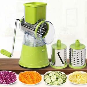 fruit and Vegetable cheese slicer, hand-operated multi-function drum shredder