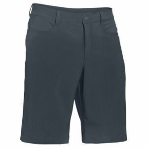 New Under Armour Golf Leaderboard Tech Shorts Stealth Gray Mens Size 38 MSRP $50