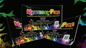 Mystical Fire PLUS 50 Pack Campfire Fireplace Colorant Packets Packs