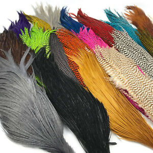 HARELINE HALF ROOSTER CAPES Fly Tying Neck Hackle Feathers Hair Extension NEW