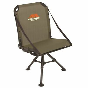 Millennium Treestands G100 Adjustable Ground Blind Chair - Quite and Comfortable