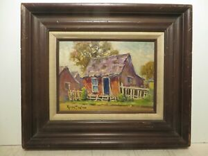 9x12 org. 1964 oil painting by Rolla Taylor of