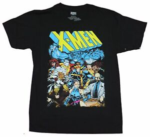 X Men Mens T Shirt 90s Jim Lee Style Team Under Logo Image $18.99