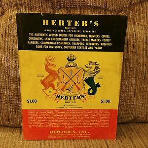 1972 Herter's Inc. No.82 Hunting Fishing Sporting Goods Catalog