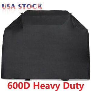 58 64 70 72 BBQ Grill Gas Barbecue Cover Waterproof 600D Heavy Duty