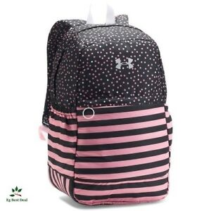 Under Armour Backpack For Girls Women With Water Bottle Pockets High School Pink
