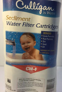 Culligan CW-F 10 Micron Sediment Water Filter Cartridges (2 Pack) FREE SHIPPING