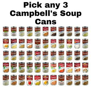 Campbell#x27;s Soup Cans Pick any 3 Cans Mix amp; Match Flavors $16.99