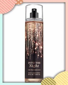 (1) Bath & Body Works INTO THE NIGHT Fine Fragrance Mist Spray 8oz NEW