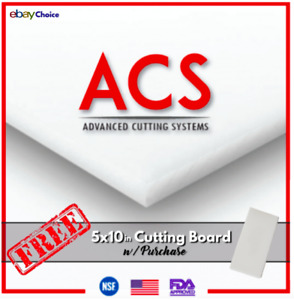 🇺🇸 Commercial Cutting Board Set Large White Plastic Cutting Boards 18x24x1 2 $54.54