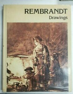 REMBRANDT Drawings by Paul Nemo Hardcover w Dust Jacked Used Good $12.95