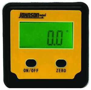 Johnson Level amp; Tool 1886 0000 Magnetic Digital Angle Locator $32.48
