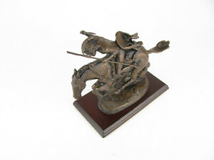 The Cheyenne by Frederic Remington Bronze Sculpture 1988