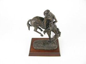 The Outlaw by Frederic Remington Bronze Sculpture 1988