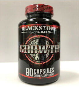 BLACKSTONE LABS GROWTH Build Muscle Burn Fat 90 CAPSULES