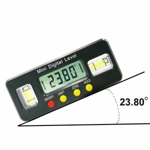 Digital Protractor Angle Finder 100mm Electronic Level Measuring Carpenter Tool $23.25