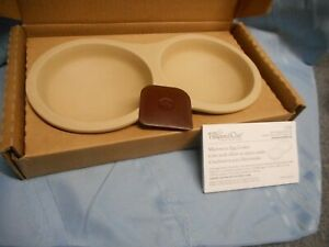 PAMPERED CHEF 1372 STONEWARE MICROWAVE EGG COOKER NIB