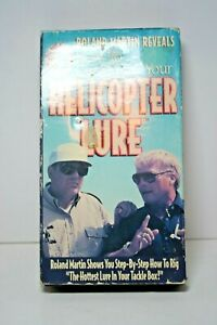 Roland Martin Reveals How to Customize Your Helicopter Lure VHS Video Tape 1994