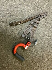 RIDGID 226 In-Place Soil Pipe Cutter 1 12 in. to 6 in. Capacity