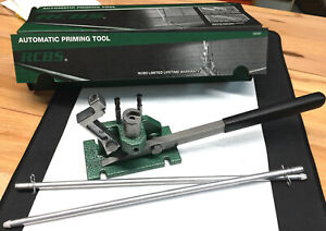 RCBS Automatic Priming Tool W Hollands Auto Return Spring Included! - Pristine