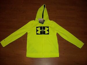NWT boys youth Under Armour Storm zip up hoodie, size YSM $54.99 $21.00