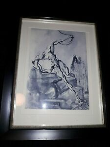 Salvador Dali Etching With Certification $70.00