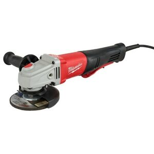 Milwaukee 6143-31 11 Amp 4-1/2 / 5 Braking Small Angle Grinder Paddle - IN STOCK