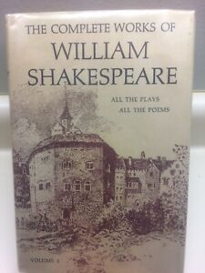 The Complete Works of William Shakespeare,  Volume 2 Hardcover Nelson Doubleday