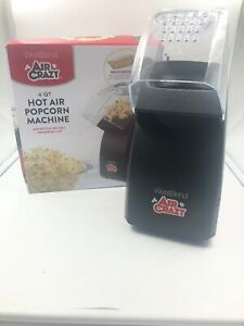 West Bend Air Crazy Hot Air Popcorn Popper Red Makes 4 qt Coffee Bean Roaster