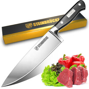 Super Sharp Kitchen Knife Chef Knives 8 inch German High Quality Stainless Steel